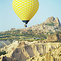 Balloon Ride Over Goreme National Park by Ron Dahlquist