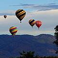Balloon Rise by Ernie Echols