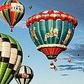 Balloons Away by Dave Files