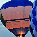 Balloons Before Sunset by Diane Lent