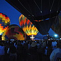 Balloons In The Crowd by Ken Waters