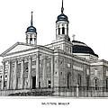 Baltimore Basilica by Frederic Kohli