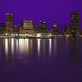 Baltimore Bleeds Purple Believe by Michael French