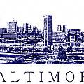 Baltimore Blueprint by Olivier Le Queinec