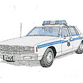 Baltimore City Police Cruiser by Calvert Koerber
