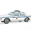 Baltimore City Police Vehicle by Calvert Koerber