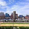 Baltimore Inner Harbor Beach by Olivier Le Queinec