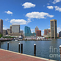 Baltimore Inner Harbor by Olivier Le Queinec