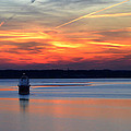 Baltimore Light At Gibson Island by Bill Swartwout Fine Art Photography
