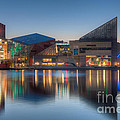 Baltimore National Aquarium At Dawn I by Clarence Holmes