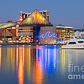 Baltimore National Aquarium At Twilight I by Clarence Holmes
