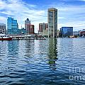 Baltimore On The Water by Olivier Le Queinec