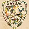 Baltimore Ravens Logo Art by Florian Rodarte