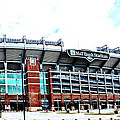 Baltimore Ravens - M And T Bank Stadium by Bill Cannon