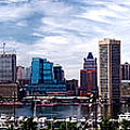Baltimore Skyline by Olivier Le Queinec