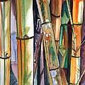 Bamboo Garden by Marionette Taboniar