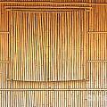 Bamboo Wall And Shutters by Yali Shi