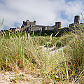 Bamburgh Castle From The Dunes by David Head