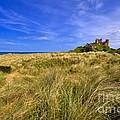 Bamburgh Castle by Louise Heusinkveld