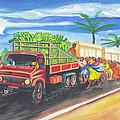 Banana Delivery In Cameroon 02 by Emmanuel Baliyanga