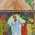 Banana Vendor by Patricia Beebe