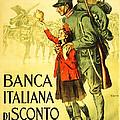 Banca Italiana Di Sconto, 1917 by Enrico della Lionne