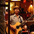 Band At Palaad Tawanron Restaurant - Chiang Mai Thailand - 01133 by DC Photographer