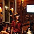Band At Palaad Tawanron Restaurant - Chiang Mai Thailand - 01137 by DC Photographer