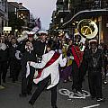 Band In Street New Orleans by John McGraw