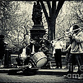 Band On Union Square New York City by Sabine Jacobs
