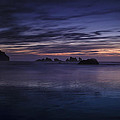 Bandon Beach At Twilight by Andrew Soundarajan