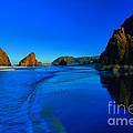 Bandon Blue And Gold by Adam Jewell