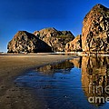 Bandon Low Tide Reflections by Adam Jewell