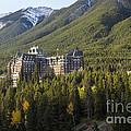 Banff Fairmont Springs Hotel by Bob Phillips