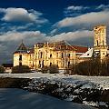 Banffy Castle In Transylvania by Bogdan Dan