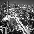Bangkok Skyline 1 - Thailand by Luciano Mortula
