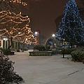 Bangor Maine Christmas by Glenn Gordon