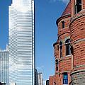 Bank Of America Plaza Dallas by Bill Cobb