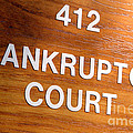 Bankruptcy Court by Olivier Le Queinec