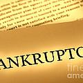 Bankruptcy Notice by Olivier Le Queinec