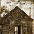 Bannack Church by Wes and Dotty Weber