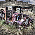 Bannack Ghost Town Truck - Montana by Daniel Hagerman
