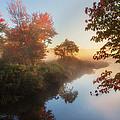 Bantam River Sunrise by Bill Wakeley