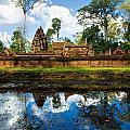 Banteay Srei - Angkor Wat - Cambodia by Luciano Mortula