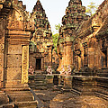 Banteay Srei, Cambodia by David Davis