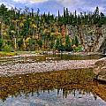 Baptism River Reflection by Bryan Benson