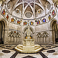 Baptistry At Saint John The Divine Cathedral by Susan Candelario