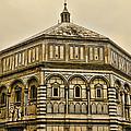 Baptistry - Florence Italy by Jon Berghoff