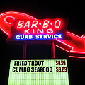 Bar B Q King In Charlotte N C by Randall Weidner