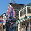 Bar Harbor Downtown  by Jeff Heimlich